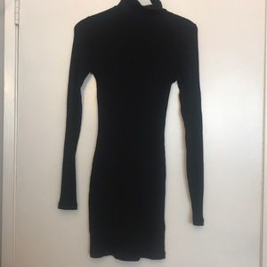 Free People Dresses - Around Town Turtle neck dress NWT (Black)